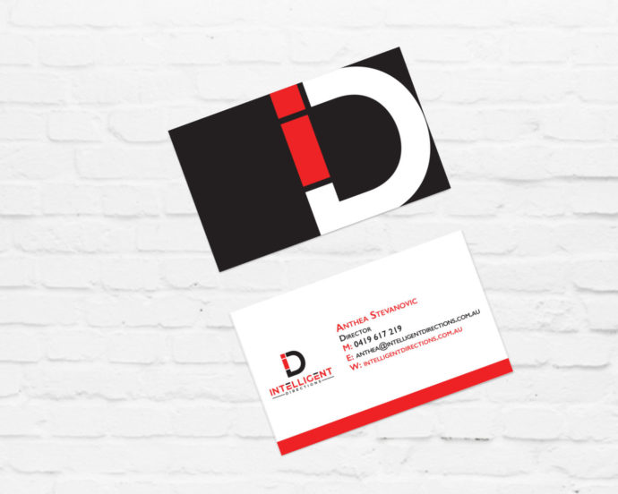 Brand Icon Design and Business Card Design for a Business Coach | Brand for Brands Agency