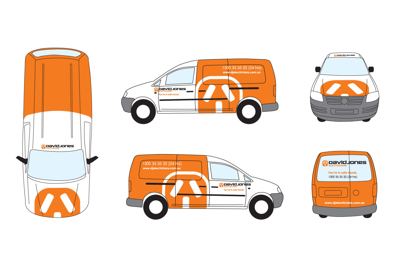 Vehicle Signage Design