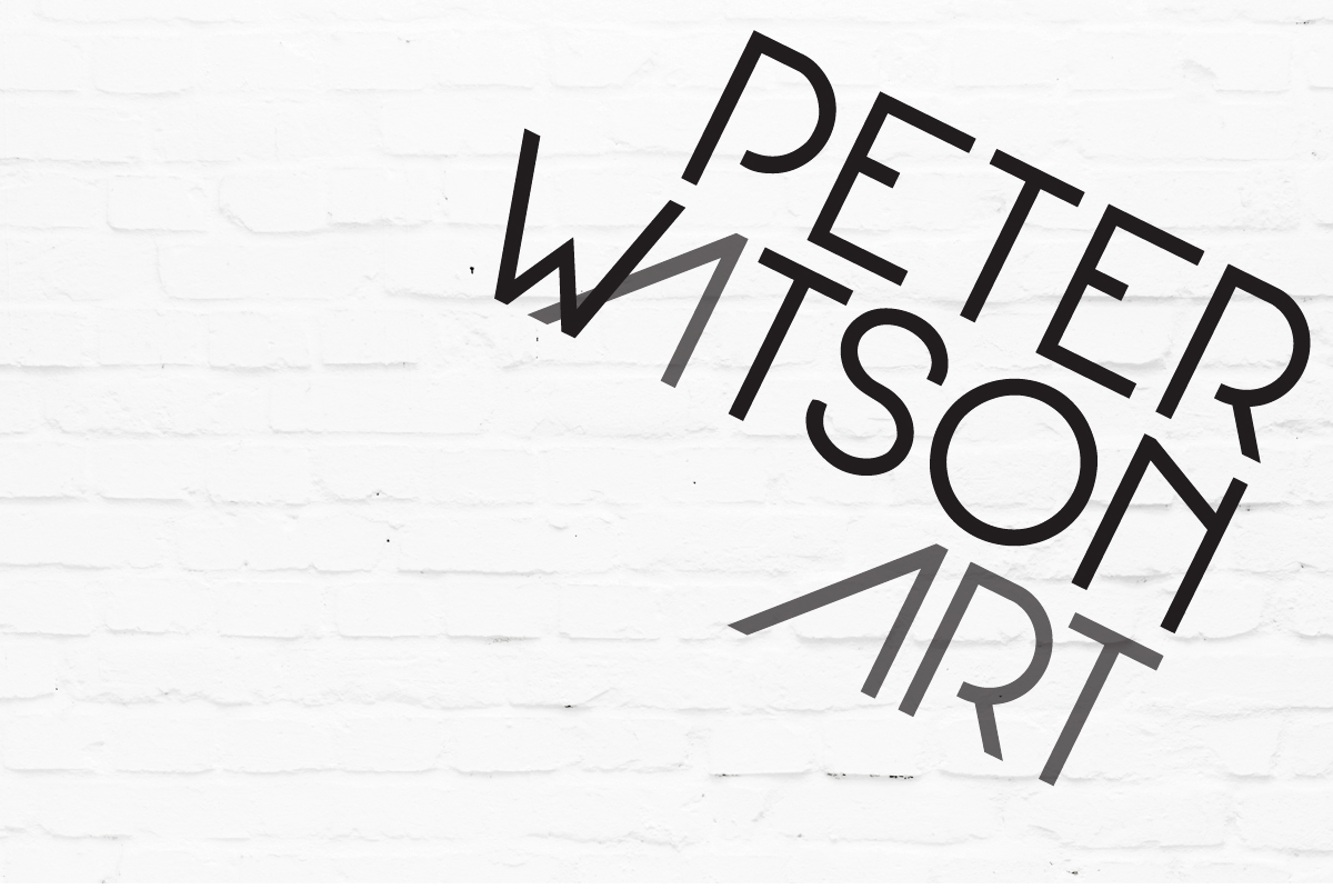 Brand & Marketing Material for Peter Watson Art | Brand for Brands Agency