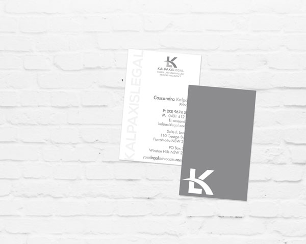 Business Card Design | Graphic Design Sydney | Brand for Brands Agency