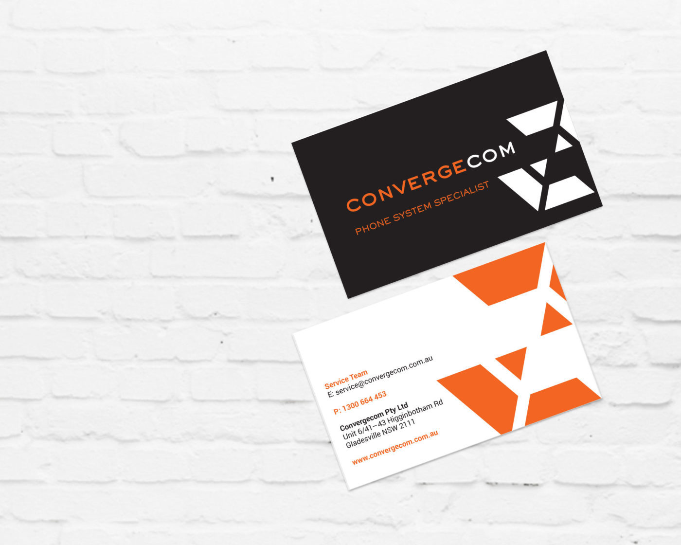 Brand, Business Card & Collateral Design for Telecommunications Contractor | Graphic Design Sydney