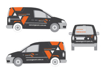 Brand & Vehicle Design for Telecommunications Contractor | Brand for Brands Agency