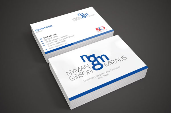 Brand Identity & Business Card Design for Law Firm | Brand for Brands Agency