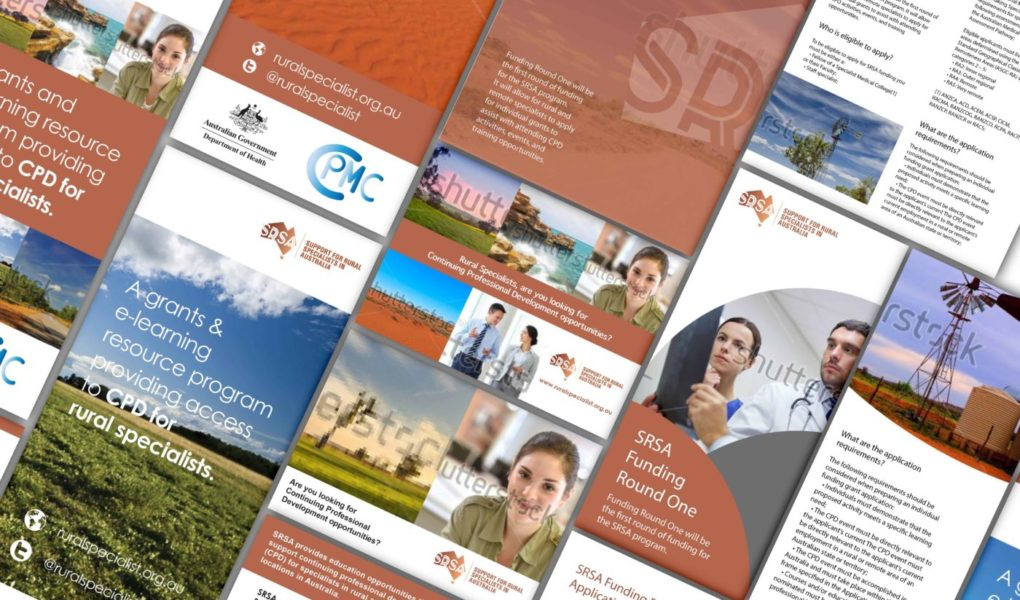 SRSA Brand, Collateral, Website and Conference Material