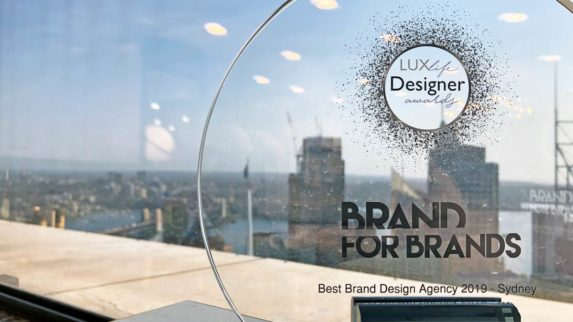 Winners of LUXlife Designer Awards - Best Brand Agency