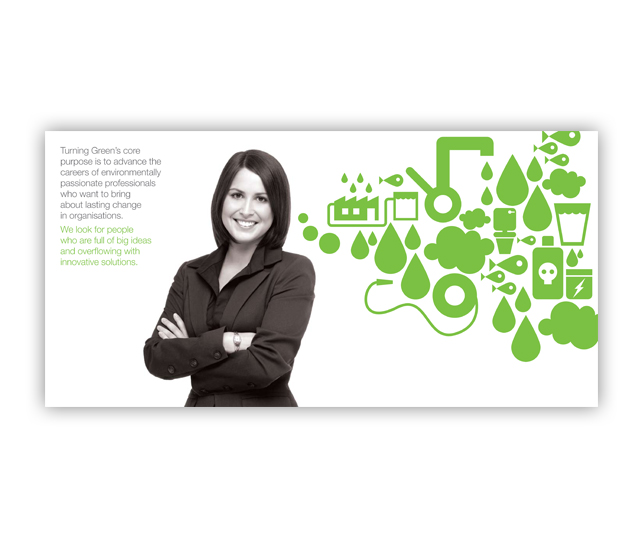 Turning Green Recruitment Agency Sales Tool Design